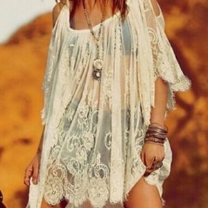 Free People Lace Coverup